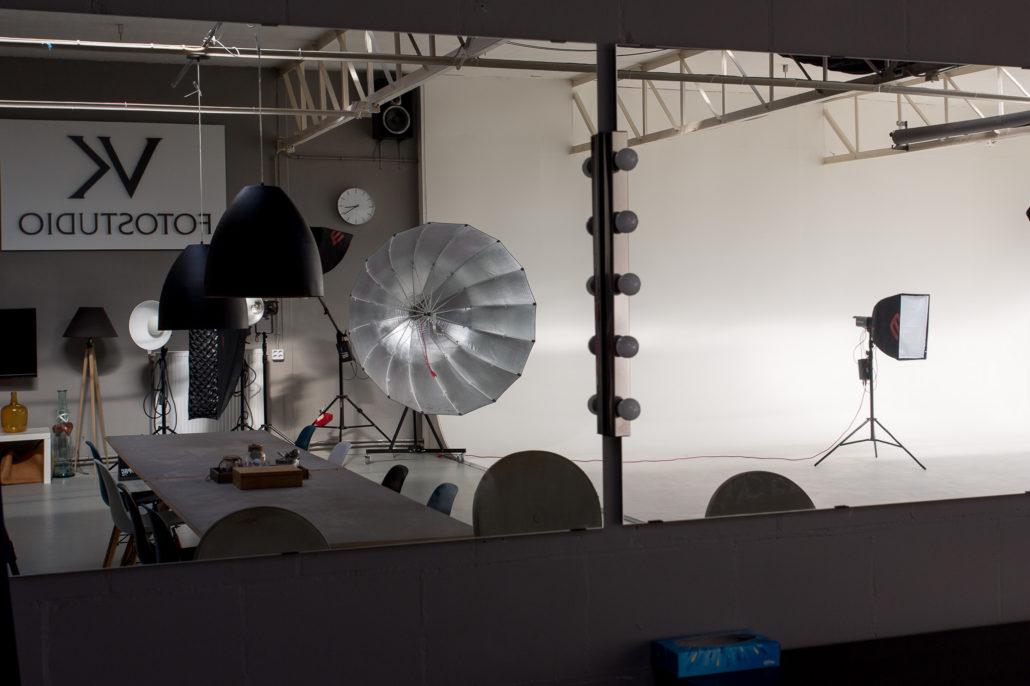 limbowand en spiegel van onze filmstudio
