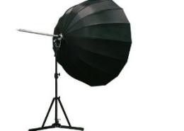 Deze grote diepe reuzenparaplu is te huur bij gebruik van onze fotostudio.