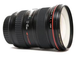 De Canon 17-40 F/4 is te huur bij gebruik van onze fotostudio.
