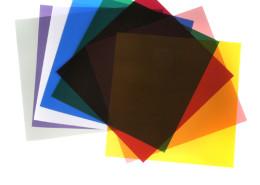 Deze kleurenfilterset is te huur bij gebruik van onze fotostudio.