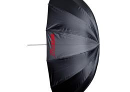 Deze grote paraplu is te huur bij gebruik van onze fotostudio.