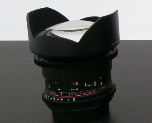 Review Samyang T3.1/14mm Ultra Wide Angle Cine Lens
