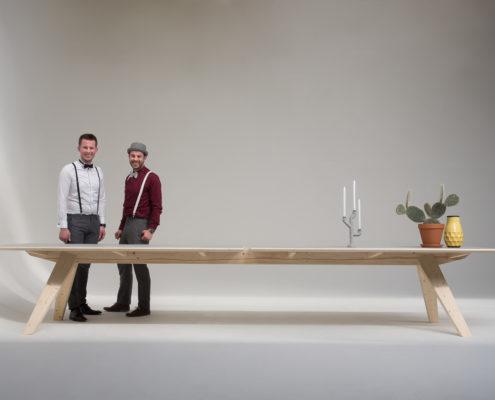 Jeursen Design Backbone table