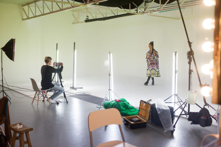 Filmstudio huren - greenscreenstudio huren videoclip