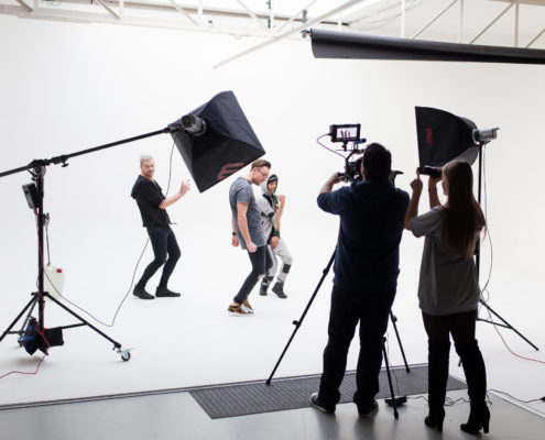 Storm3 videoclip production in our filmstudio.