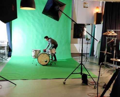 Greenscreen chromakey studio huren Den Haag